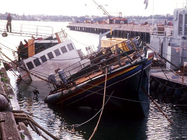 1985 Greenpeace boat bombing