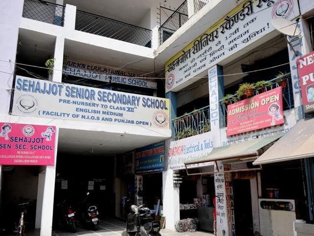 Chandigarh,Sehajjot Senior Secondary School,Right to Children to Free and Compulsory Education Act
