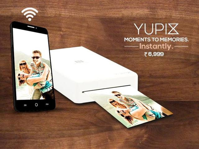 YUPIX is YU's new portable wireless printer.