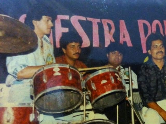 During his initial days in Jabalpur, Aadesh Shrivastava played drums for Polydor orchestra.