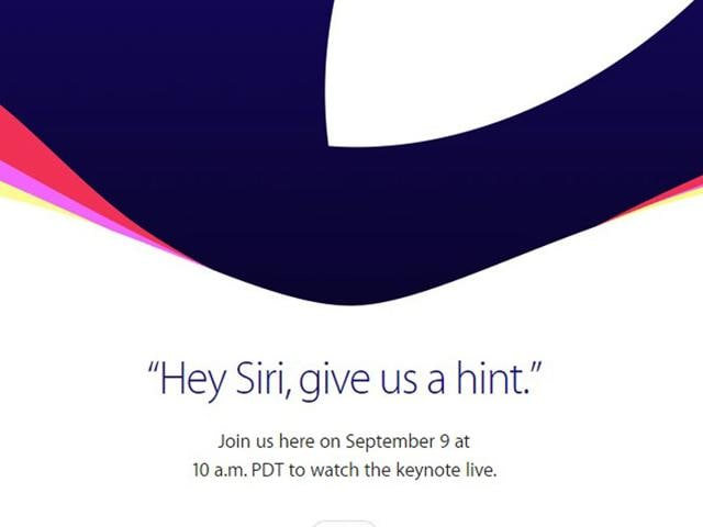 On August 27, Apple invited journalists to an event on Wednesday where it is widely expected to unveil new iPhones and potentially a new version of its Apple TV set-top box. (Apple.com)