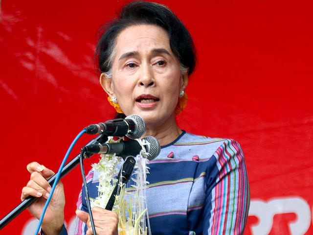 Myanmar's Suu Kyi calls for free and fair elections