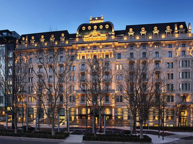 Excelsior Hotel Gallia is a luxurious hotel in the heart of Milan. It has been named Europe's best luxury hotel. (AFP Photo)
