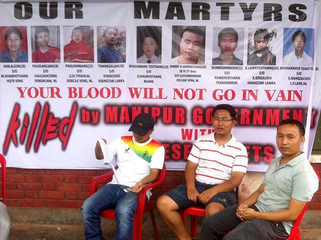 Kuki,Meitei,Manipur agitation