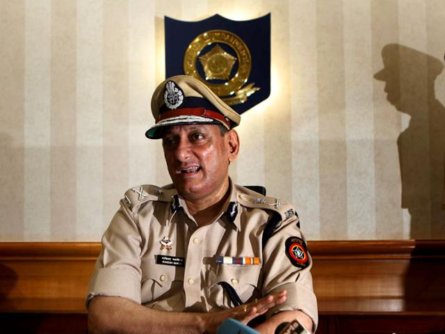 Rakesh Maria,Ahmed Javed,Mumbai police commissioner