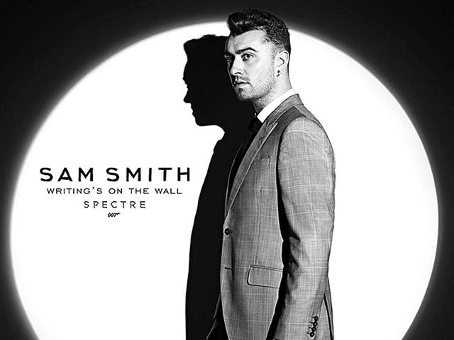 The Writing's on the Wall: Sam Smith to perform Spectre theme. (Instagram)