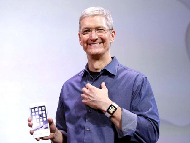 Apple CEO Tim Cook will be on stage to announce the company's latest product lineup. (AFP File Photo)