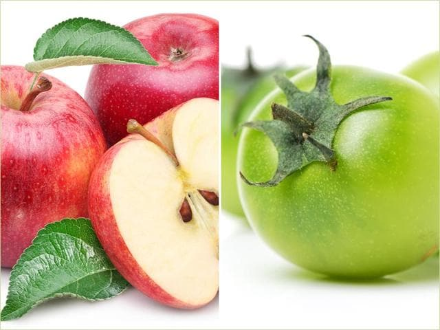 Scientists have discovered that two natural compounds, one found in apples and one in green tomatoes, reduce weakness in muscles. (Shutterstock Images)