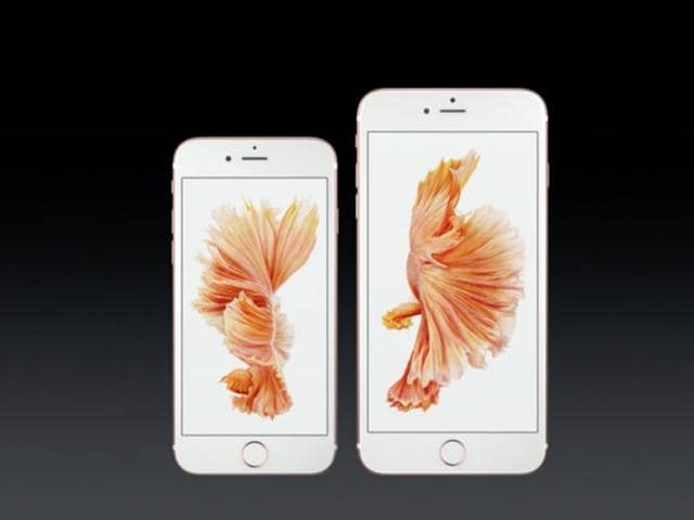 Apple's new iPhone 6S and 6S Plus.
