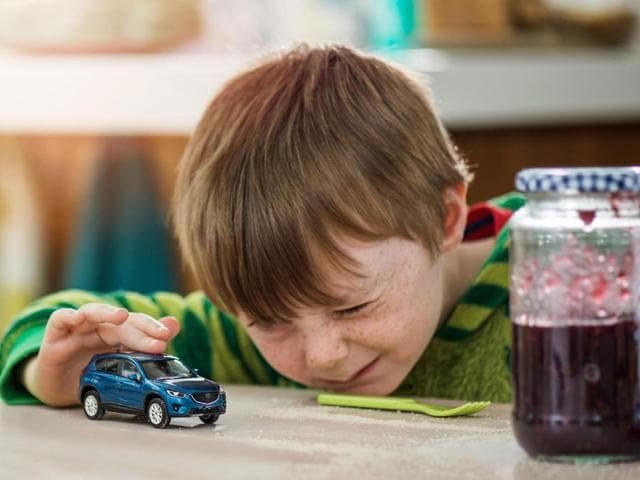 37% of car buying decisions are influenced by kids, a UK study has found. Photo:AFP