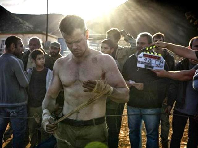 Bourne reborn: Matt Damon gets down and dirty in first-look for Bourne 5. (Twitter)