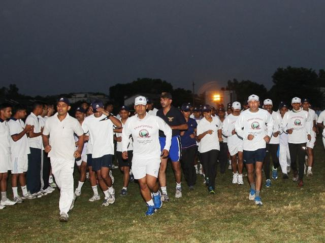 Air Force organises ultra marathon from Pathankot station