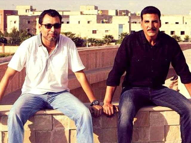 Akshay Kumar's Rustom will be directed by newcomer Tinu Suresh Desai and will have dialogues by Neeraj Pandey. (akshaykumarofficial/Facebook)