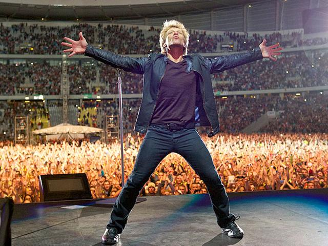 Bon Jovi's 2009 We Weren't Born To Follow music video features brief images of the 1989 pro-democracy demonstrations around Beijing's Tiananmen Square. (BonJovi/Facebook)