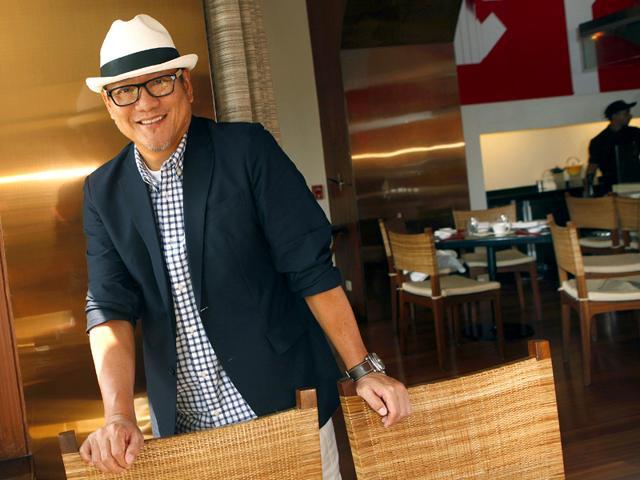 Japanese chef Masaharu Morimoto. (Arijit Sen/HT photo)