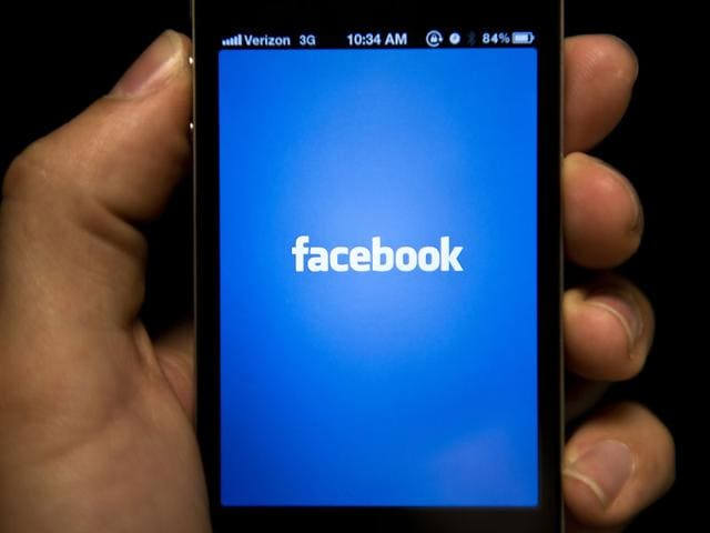 Journalists and other public figures can now offer live video to their followers on Facebook. Photo: AFP
