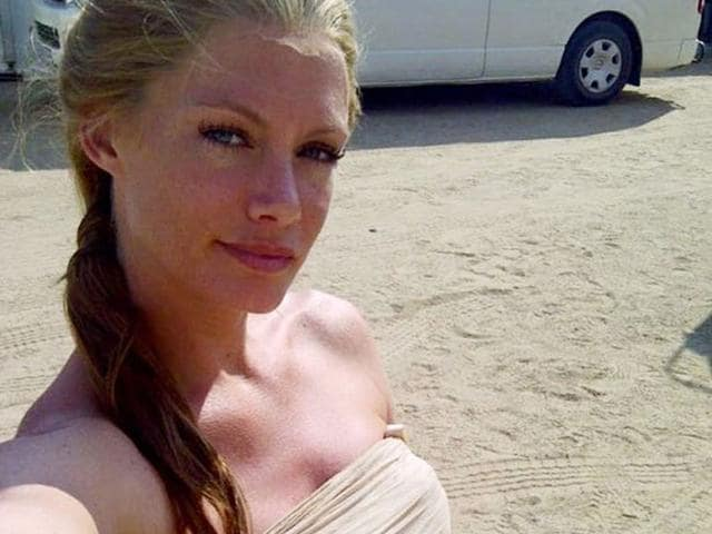Stuntwoman Olivia Jackson in a coma after accident on Resident Evil sets. (Facebook)
