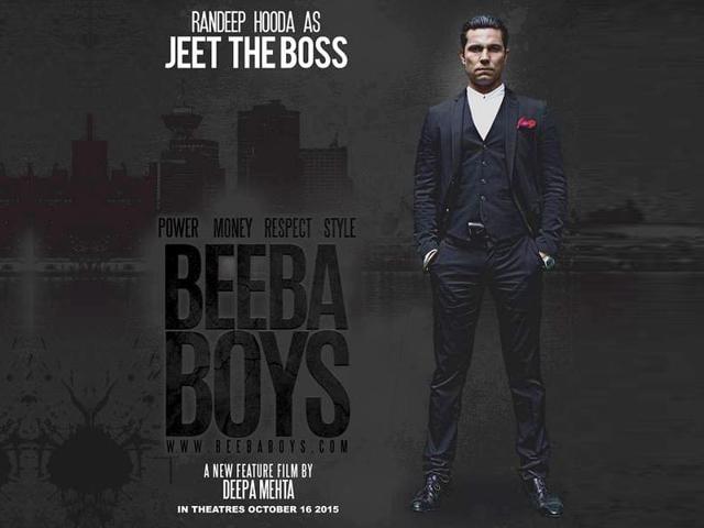 Beeba Boys,Toronto Film Festival,Randeep Hooda