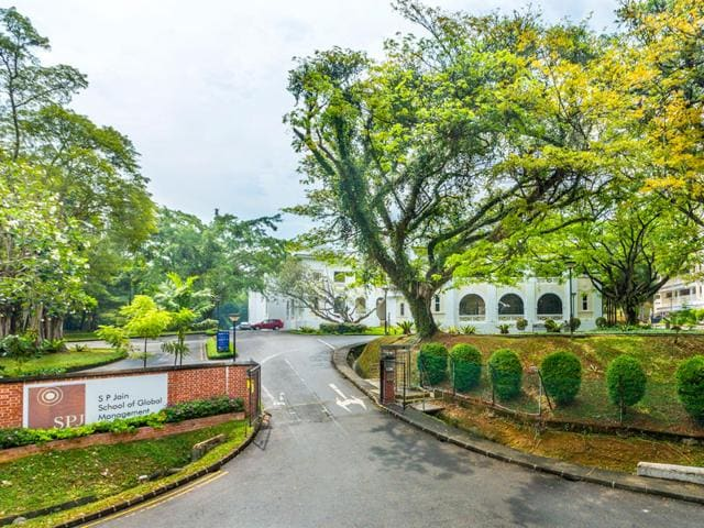 For four years in a row now, SP Jain School of Global Management has featured in Forbes' biennial rankings of the world's top business schools. (HT photo)
