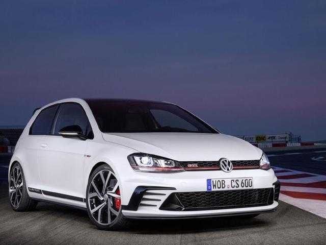 Volkswagen Golf GTI Clubsport. Photo:AFP