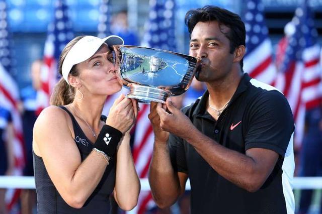 Leander Paes,Martina Hingis,US Open