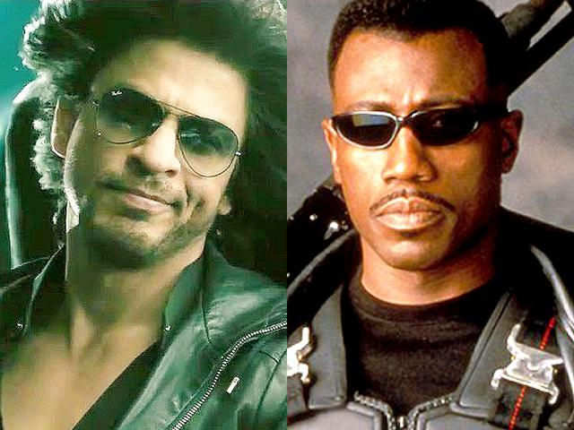 Shah Rukh says he is a fan of Wesley Snipes.