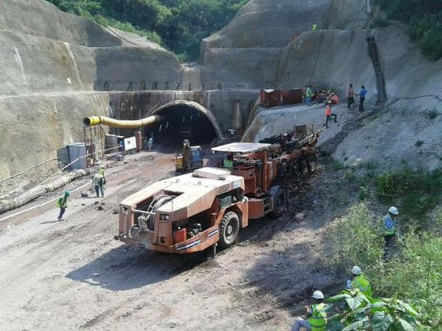 Shimla,tunnel collapse,under-construction tunnel