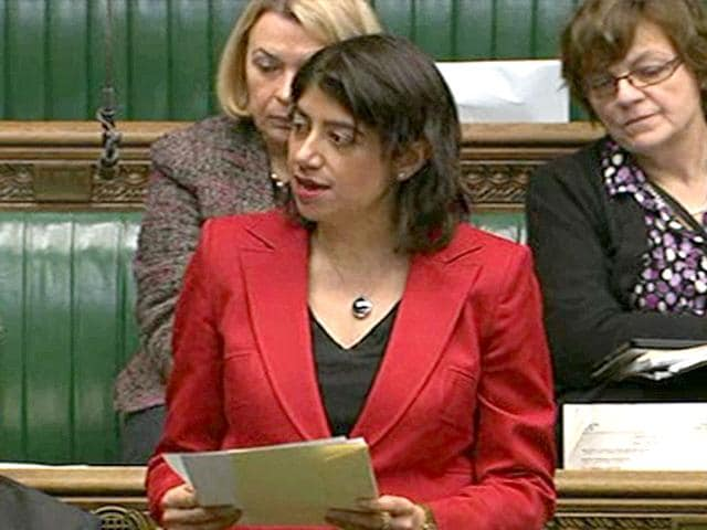Seema Malhotra, 43, was first elected from Feltham and Heston in 2011 in a by-election. (Photo: Seema Malhotra's website)