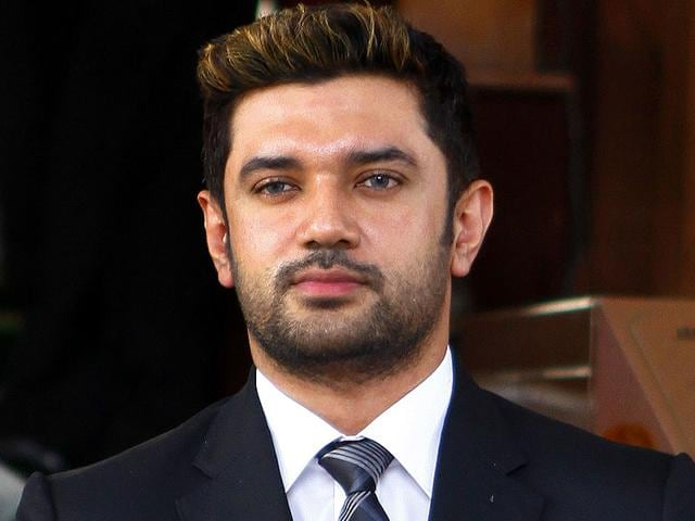 LJP leader Chirag Paswan says he is unhappy with the seat-sharing pact for the Bihar polls. (HT File Photo)