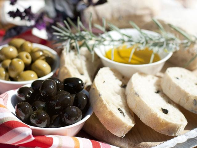 The Mediterranean diet has certain types and amounts of food. If eaten for a number of years, it has been shown to reduce the risks of many common ailments, including heart disease. (Shutterstock Photo)