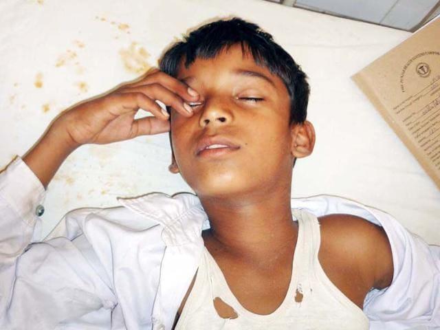 Faridkot,corporal punishment,beaten up