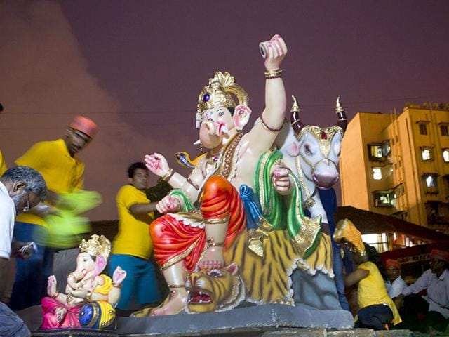 Ganesh pandals,Mumbai,MMR