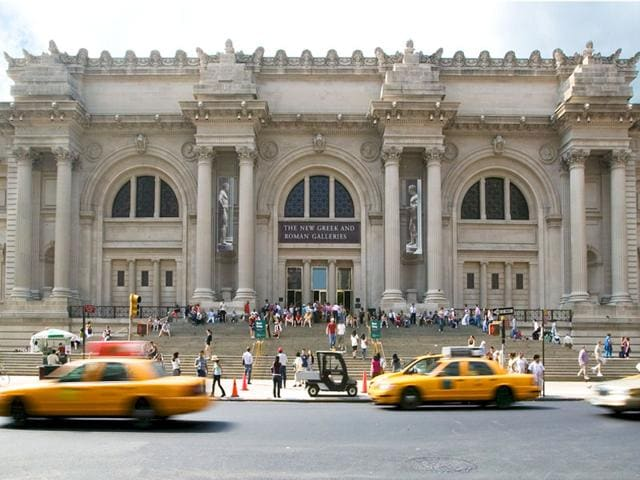 New York's Metropolitan Museum of Art has beat out nearly 600 institutions to be named the world's favorite museum. (AFP Photo)