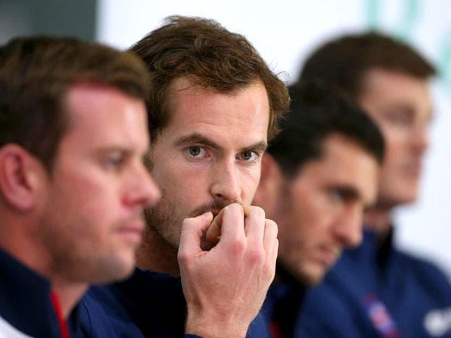 Davis Cup semifinals,Great Britain vs Australia,Belgium vs Argentina