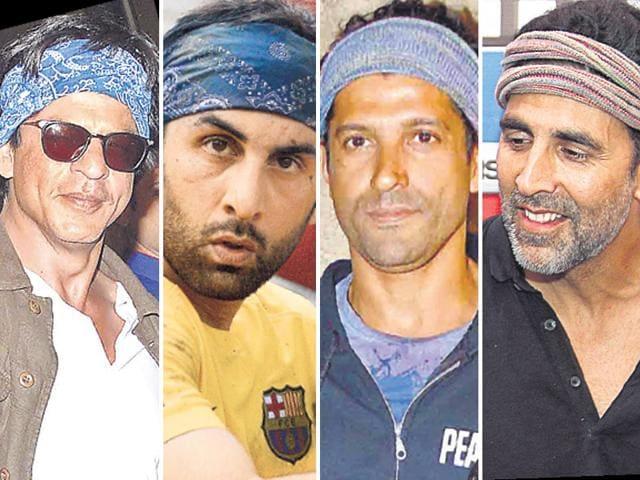 bandana,bollywood fashion,Shah Rukh Khan