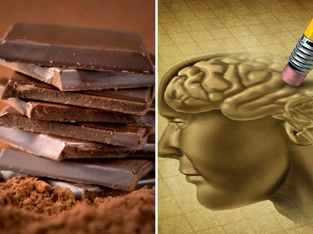 A novel chocolate made of dietary cocoa extract can promote brain health and prevent age-related neuro-degenerative disorders like Alzheimer's in the elderly, scientists have determined. (Shutterstock)