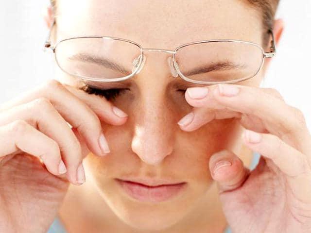 Eye infection,Heavy smoking,poor diet