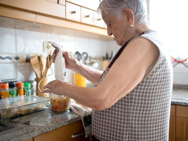 Parisians are hiring grandmothers to cook them homemade food. (Shutterstock Image)
