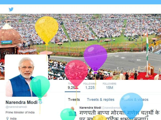 PM Narendra Modi,Twitter,#HappyBdayPM