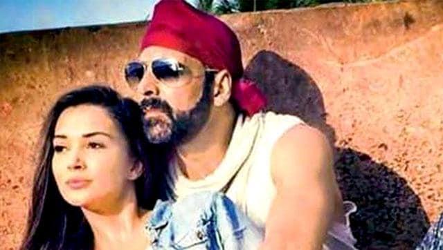 Amy Jackson,Akshay Kumar,Singh is Bliing