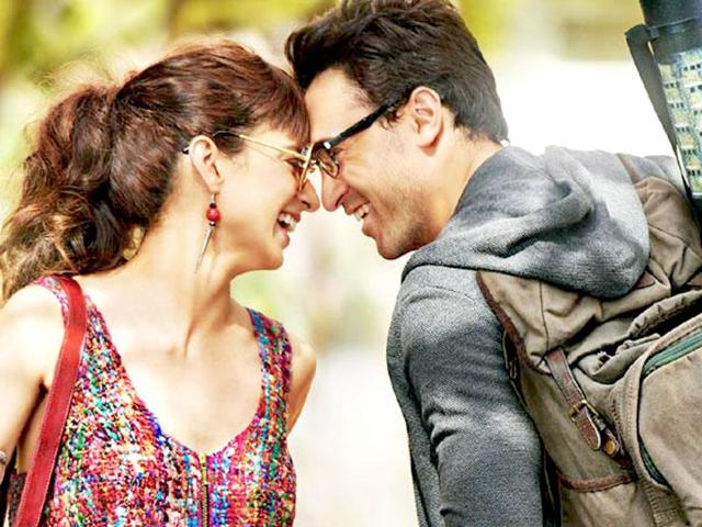 Kangana Ranaut and Imran Khan in Nikhil Advani's Katti Batti. The film is a rehash of old Bollywood films and far from prefection.