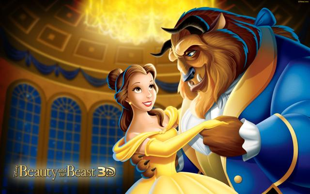 The original Disney animated film. Beauty and the Beast released in 1991