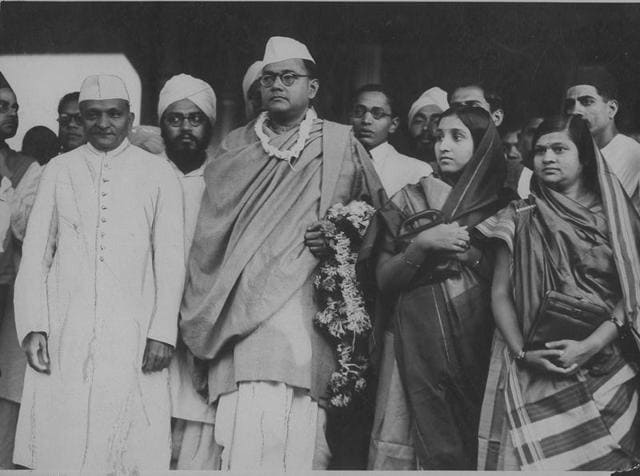 Archive photo of freedom fighter Subash Chandra Bose.