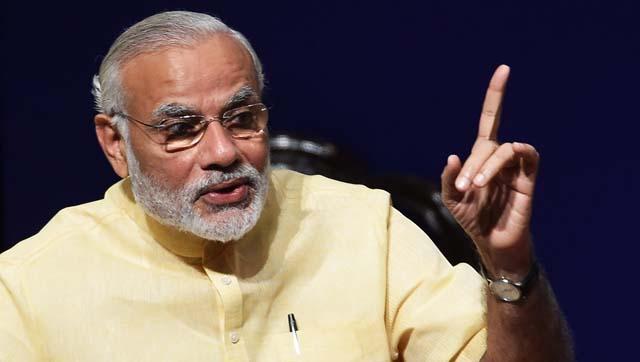 Prime Minister Narendra Modi at an event in New Delhi.