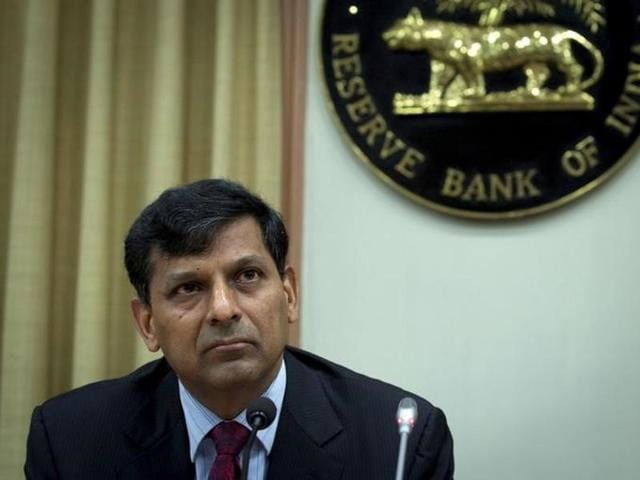 A file photo of Reserve Bank of India (RBI) governor Raghuram Rajan at a news conference in Mumbai.