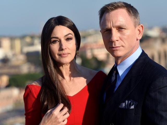 Monica Bellucci and Daniel Craig will star together in upcoming Bond flick Spectre.