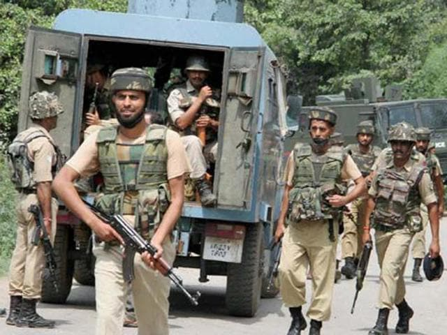 According to security forces at least eight people have been killed in Sopore by unidentified gunmen since May.