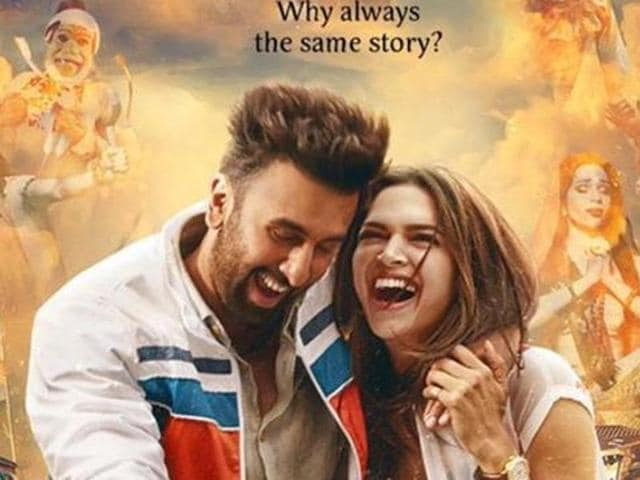 Deepika Padukone and Ranbir Kapoor in the first official poster of Tamasha.
