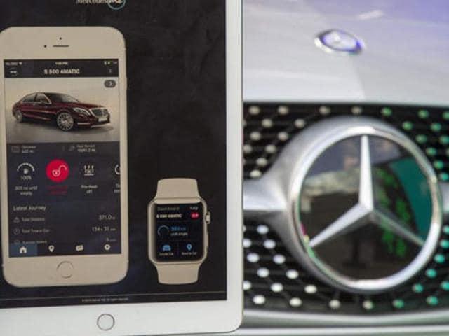 Frankfurt motot show,Apps,Merc