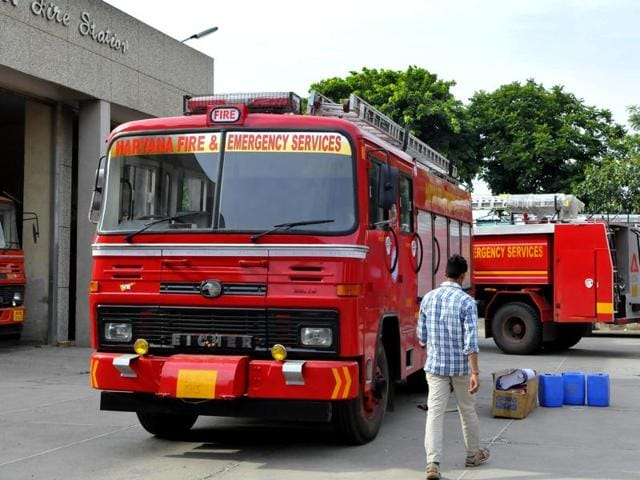 Gurgaon,Haryana,fire services